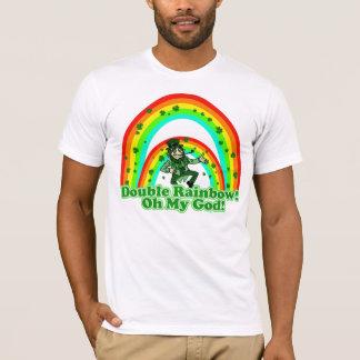 Camiseta Arco-íris dobro oh meu deus!
