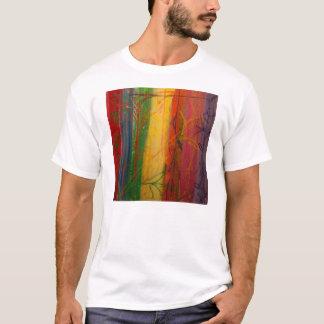 Camiseta Arco-íris Forrest por Bryce & por Mary