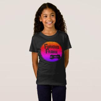 Camiseta Arco-íris furioso das meninas de Frank