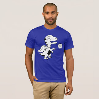 Camiseta Arco-íris Rex Grrr B&W