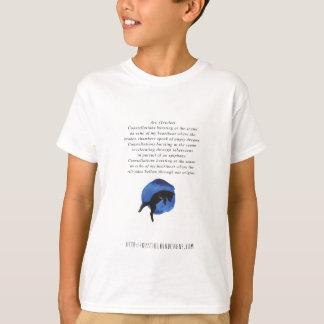 Camiseta Arco - poesia por Jessica Fuqua