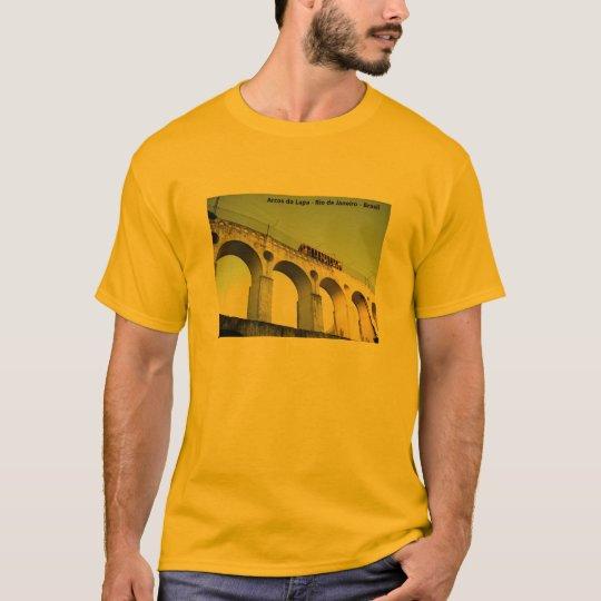 Camiseta arcos da Lapa RJ Brasil