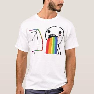 Camiseta Arcos-íris Puking