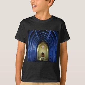 Camiseta Arcos na igreja azul
