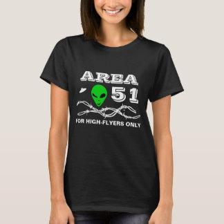 Camiseta Área 51 para customizável engraçado dos