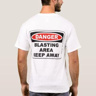 Camiseta Área de sopro
