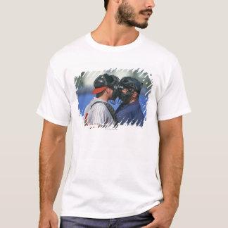 Camiseta Argumentação do coletor e do árbitro do basebol