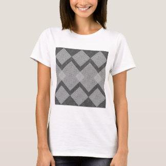 Camiseta argyle cinzento