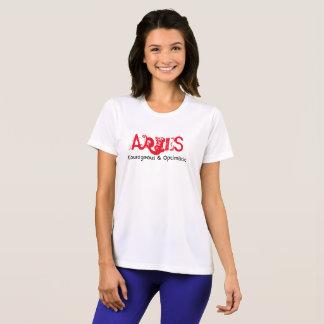 Camiseta Aries - corajoso & optimista