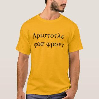 Camiseta Aristotle era errado