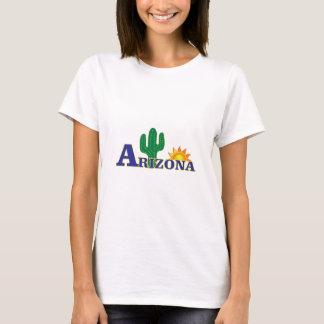 Camiseta arizona azul