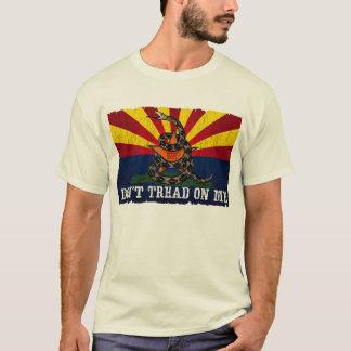 Camiseta Arizona: Não pise em mim (o vintage)