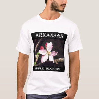 Camiseta Arkansas Apple floresce