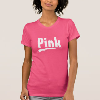 Camiseta Arma cor-de-rosa