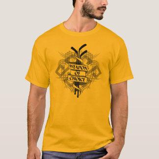 Camiseta Arma da escolha (hóquei)