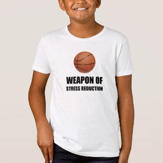 Camiseta Arma do basquetebol da redução da tensão