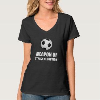 Camiseta Arma do futebol da redução da tensão