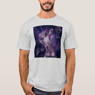Camiseta Armada de Lazer do gatinho