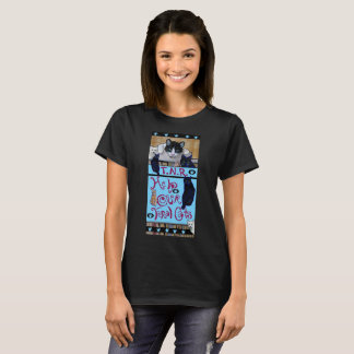 Camiseta Armadilha feroz dos gatos TNR-, neutro, liberação