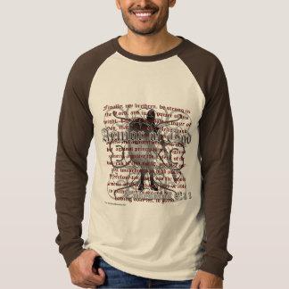 Camiseta Armadura do deus, 6:10 de Ephesians - 18, soldado