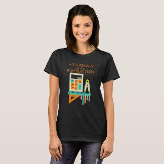 Camiseta Armas do t-shirt do professor de matemática da