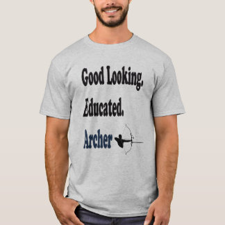 Camiseta Arqueiro educado bonito