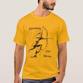 Camiseta Arqueiros da caverna de Remigia