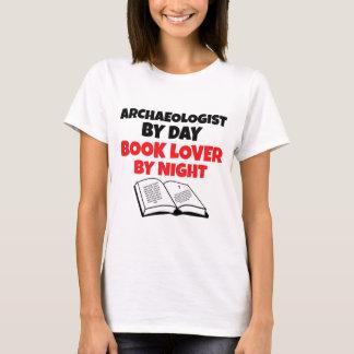 Camiseta Arqueólogo do amante de livro