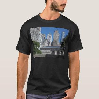Camiseta Arquitectura da cidade de Chicago