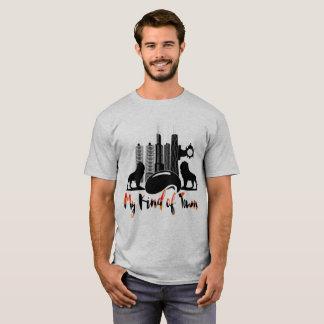 Camiseta Arquitectura da cidade de Chicago meu tipo do