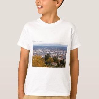 Camiseta Arquitectura da cidade do nanowatt e do NE