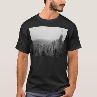 Camiseta Arquitectura da cidade preto e branco da skyline