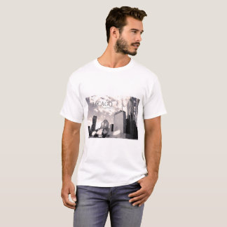 Camiseta Arquitetura de Chicago - t-shirt