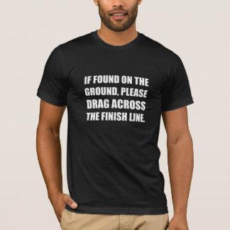 Camiseta Arrasto através do meta