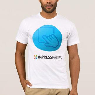 Camiseta Arrasto - e - branco do t-shirt da gota