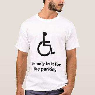 Camiseta art330, eu estou somente nele para o