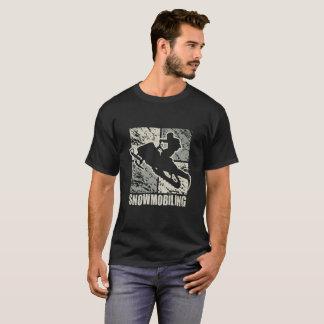 Camiseta Art deco Snowmobiling do conluio