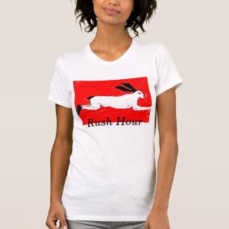Camiseta arte 025 dos frasers de Margaret, horas de ponta