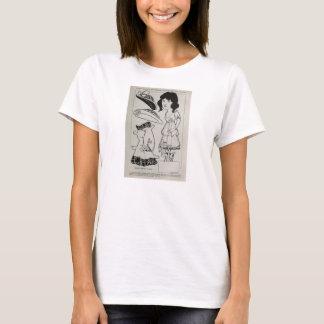 Camiseta Arte 1916 de papel da boneca do vintage de Clark