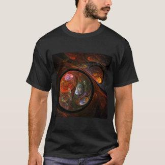 Camiseta Arte abstracta fluida da conexão