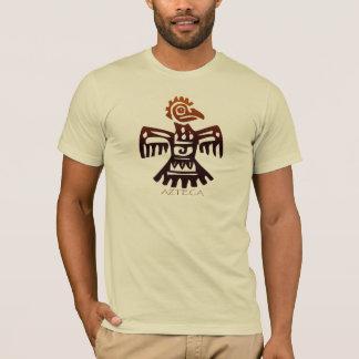 Camiseta Arte antiga ASTECA da forma do espírito do pássaro