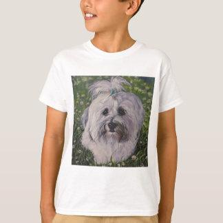 Camiseta Arte bonita do cão de Havanese