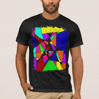 Camiseta Arte colorida do poder