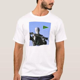 Camiseta Arte curdo do lutador 4 de YPJ
