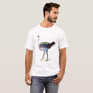 Camiseta Arte da avestruz