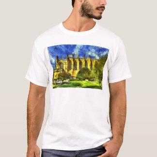 Camiseta Arte da capela da faculdade de Eton