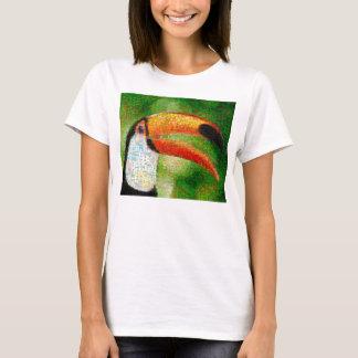 Camiseta Arte da colagem-toucan de Toucan - arte da colagem