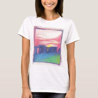Camiseta Arte da estrela de Stonehenge primeira pelo jrr