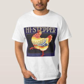 Camiseta Arte da etiqueta da caixa da fruta do vintage,
