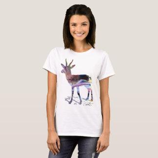 Camiseta Arte da gazela